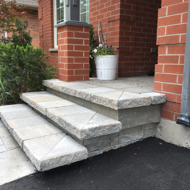 Interlocking Stone Stairs