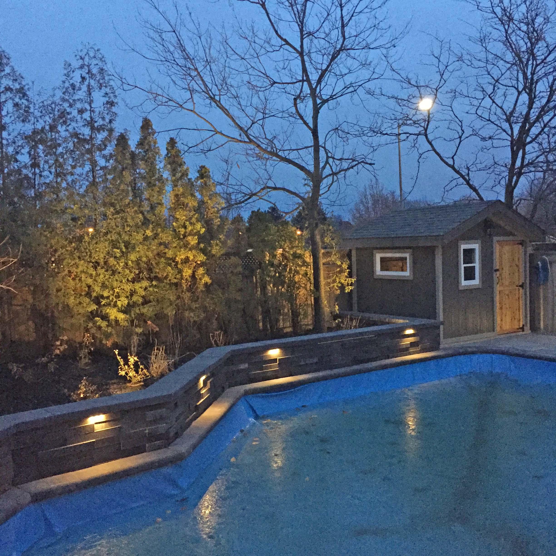 Landscape Lighting Pool LED Lighting