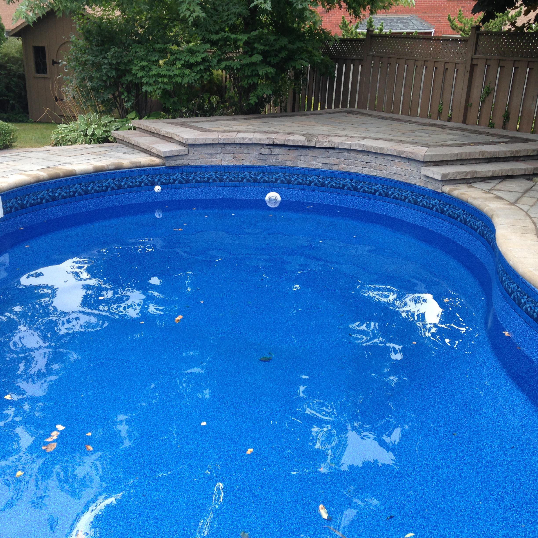 Pool Remodeling Interlocking Patio