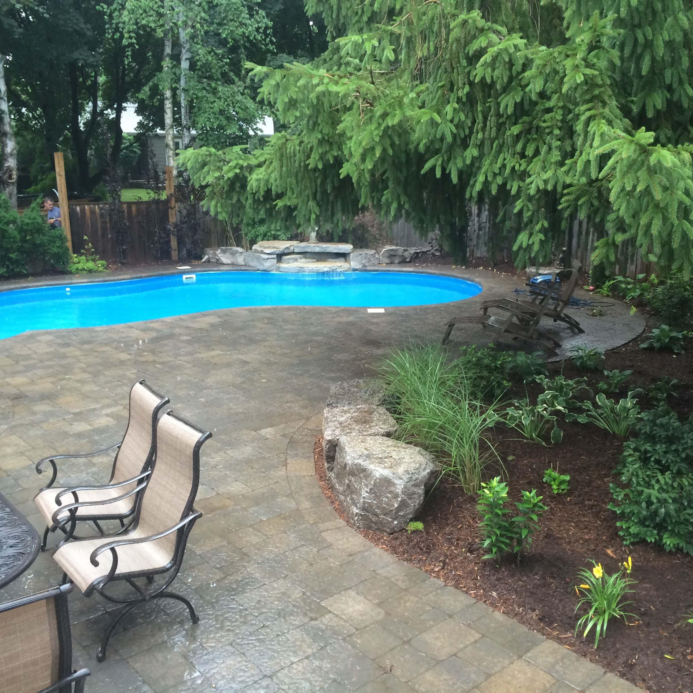 Swimming Pool Interlocking Renovation