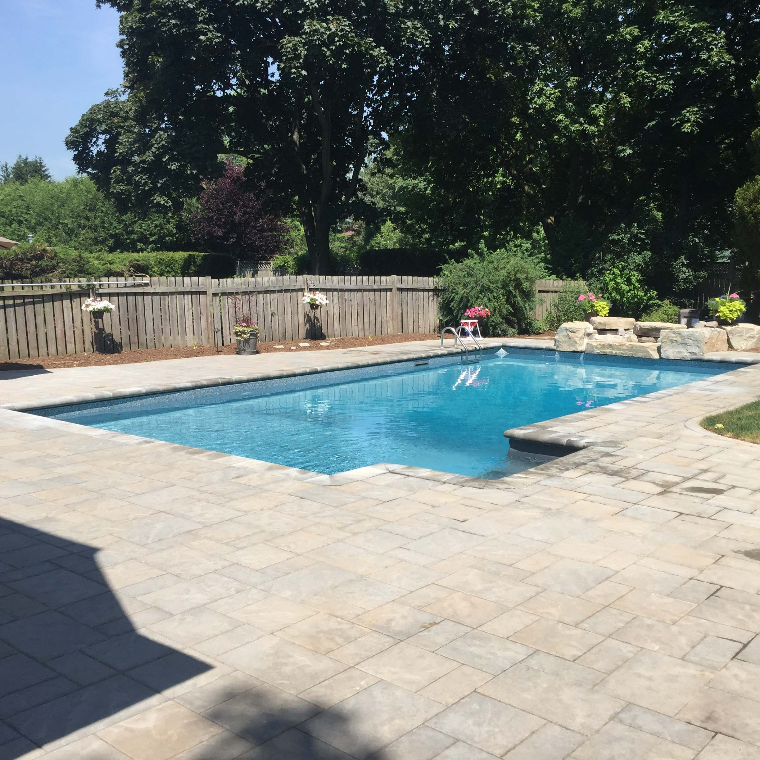 Pool remodeling pool deck renovations kdp landscaping for Pool redesign